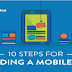 10 Steps For Building A Mobile App #infographic