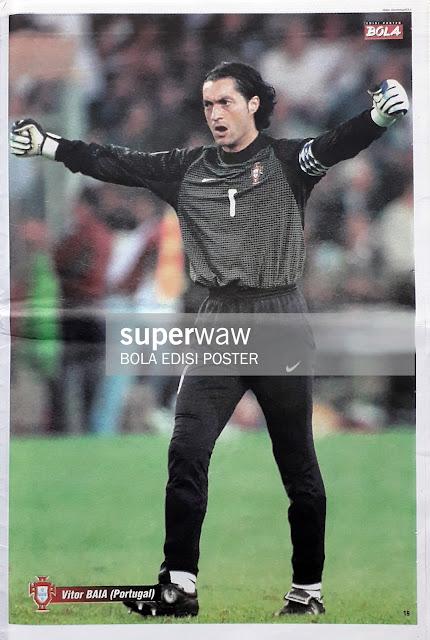 VITOR BAIA OF PORTUGAL ON EURO 2000