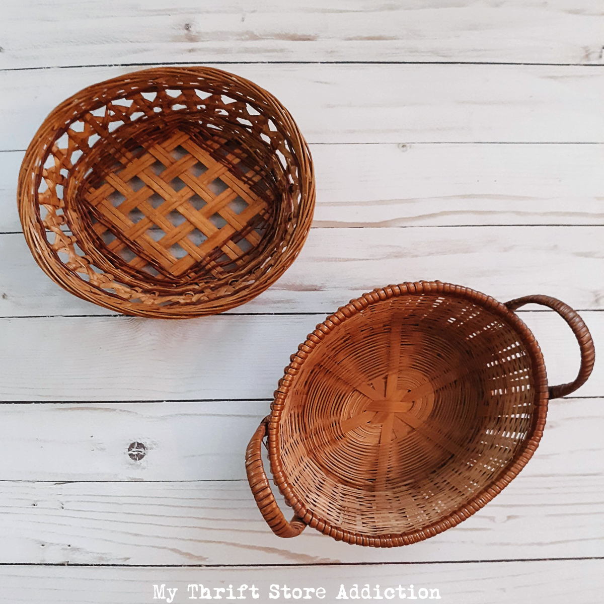 thrift store baskets