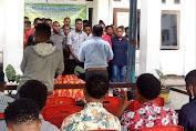 SAH;Dominggus Pigai, MT.h  MELANTIK BADAN PENGURUS BARU IPMI-J SE-JAYAPURA MASA BAKTI 2021-2023.