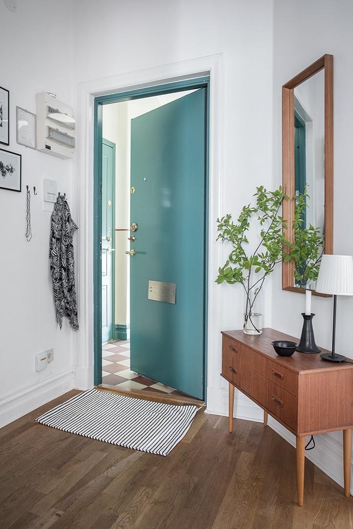skandynawskie mieszkanie, ikea, retro, mieszkanie w stylu lat 60