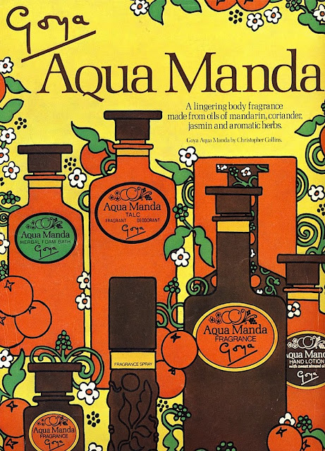 Goya Aqua Manda large color advertisement 1971