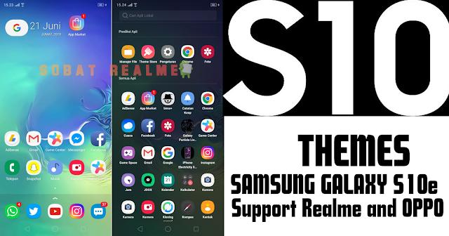 Download Themes SAMSUNG GALAXY S10e for OPPO dan Realme
