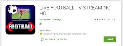 Aplikasi Streaming Pertandingan Bola Terbaik Android