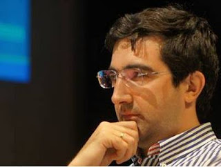 Echecs à Dortmund : Vladimir Kramnik (2785) © Photo Chess & Strategy