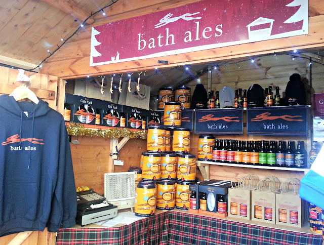 Products from Bath Ales, including beer, barrels, gift sets and hoodies