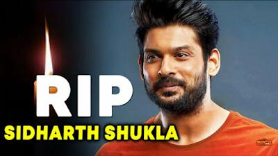 Sidharth Shukla Dead News: Big Boss Winner Sidharth Shukla Dies Of Hearth Attack.