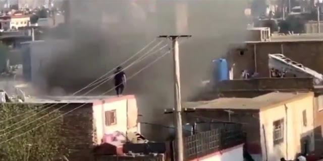 Kabul Dihantam Roket, Dua Tewas Tiga Luka-luka