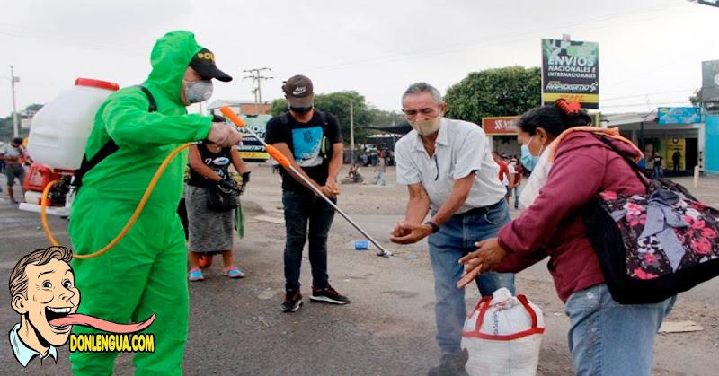 El Virus está fuera de control en Venezuela por culpa de Maduro