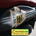 Mẫu sơn tem đấu xe Honda PS màu đen nhám tem thể thao