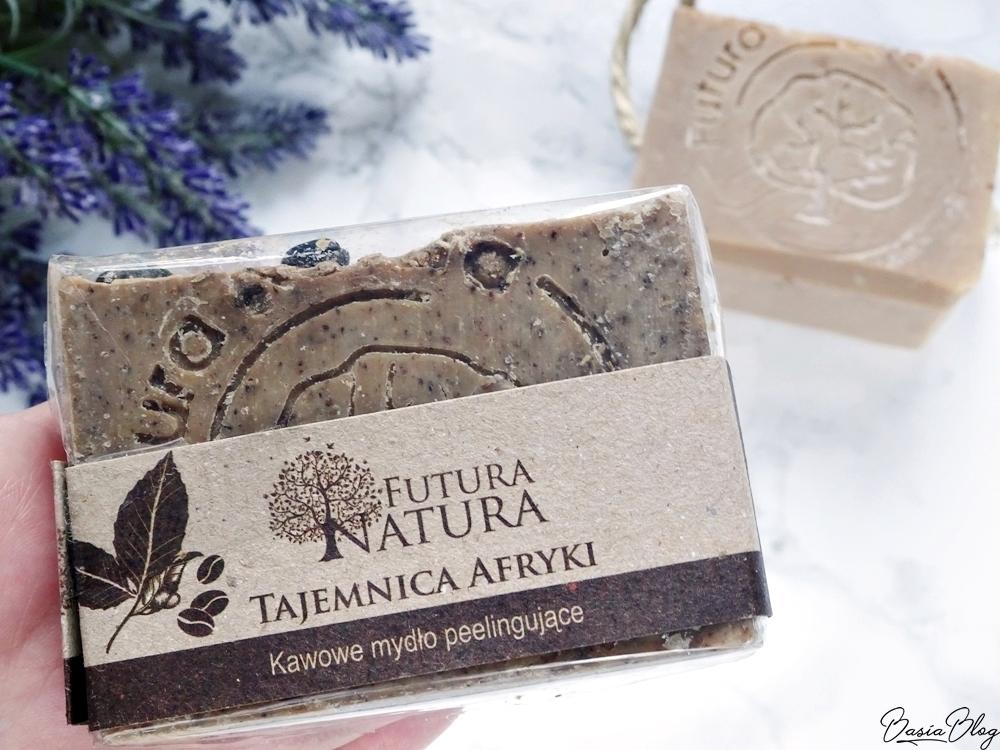 Futura Natura kawowa kostka peelingująca naturalne mydło ręcznie robione mydło
