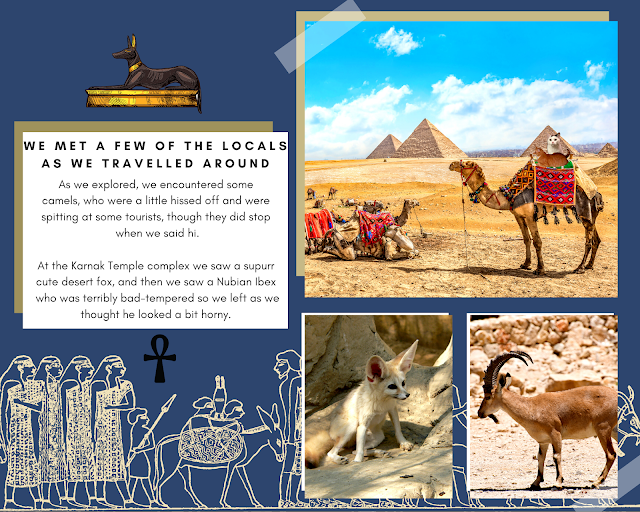 Timmy & Smooch in Smooch Around The Wurld ~ Egypt Scrapbook @BionicBasil®
