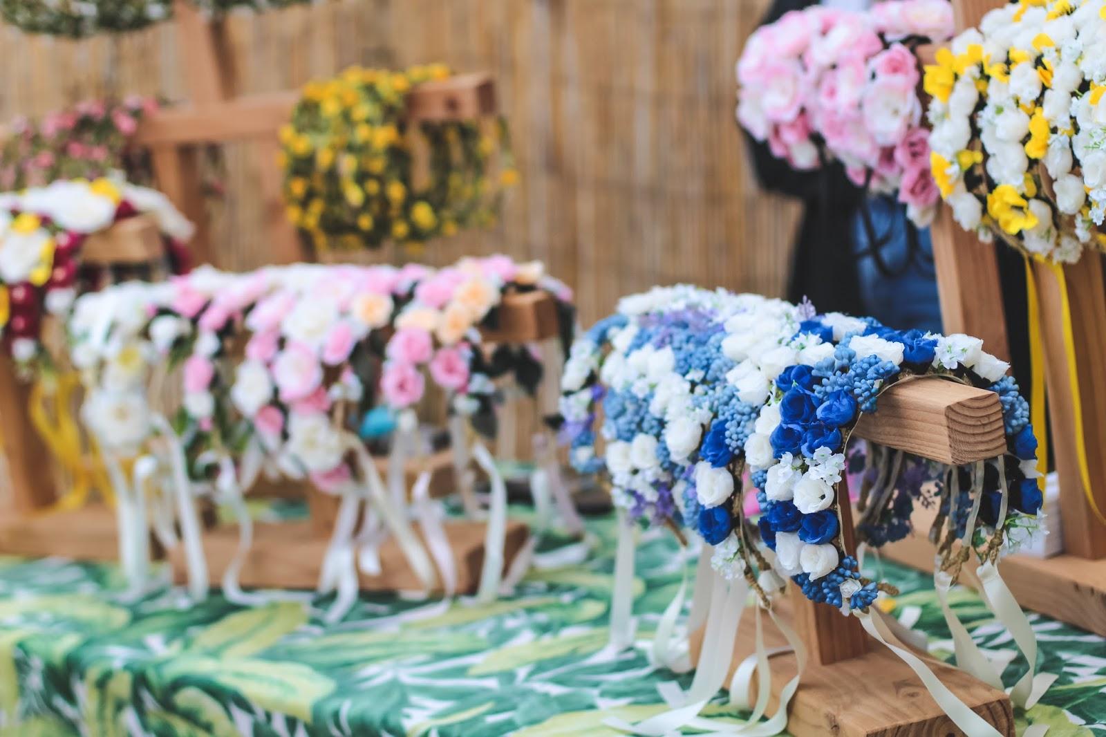 couronnes fleurs festival cabourg mon amour