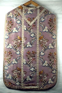 Violet and Rose Chasubles from Piedmont