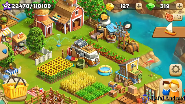 Game Mirip Harvest Moon Android Funky Bay