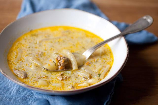 Zupa z fasolką szparagową i indykiem