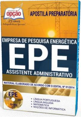 Apostila EPE Assistente Administrativo 2018