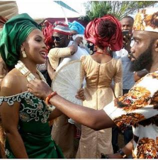 Who is noble igwe dating nake