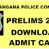 Telangana Police Constable Prelims Admit Card 2016 Download www.tslprb.in
