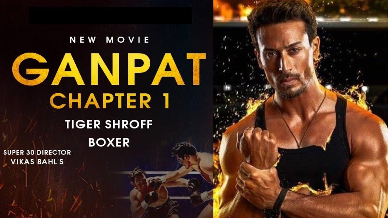 Tiger Shroff ने 'Ganapath' फिल्म के लुभावने पोस्टर का किया खुलासा।