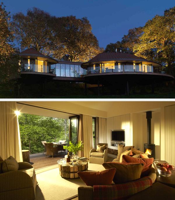 Chewton Glen Treehouse Suites