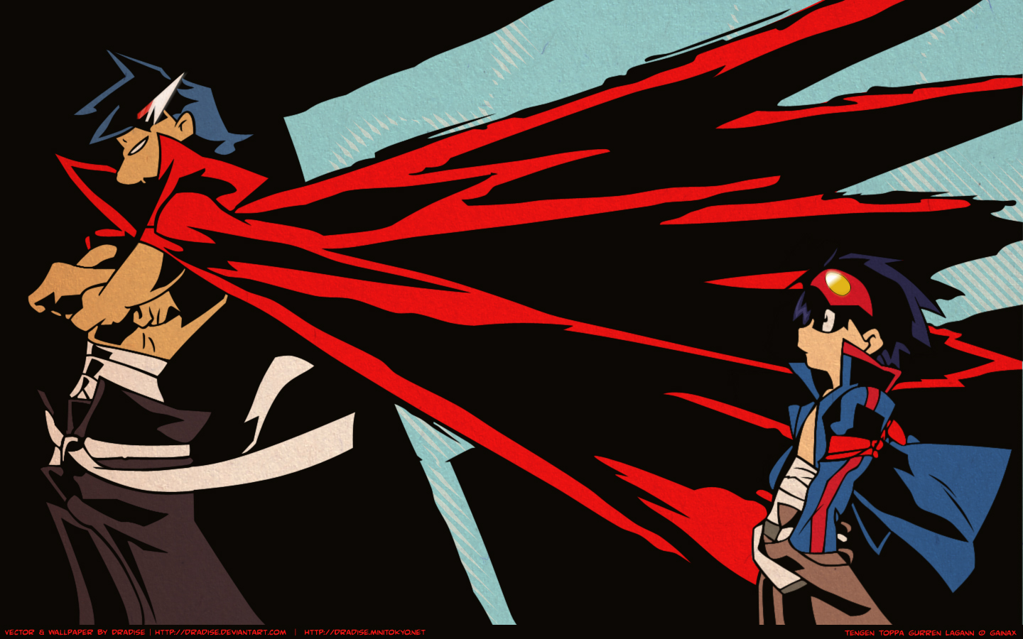 Gurren lagann kamina and simon 20 wallpapers your daily - Gurren lagann wallpaper ...