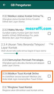 ✓ Cara Menampilkan Toast Online di Whatsapp