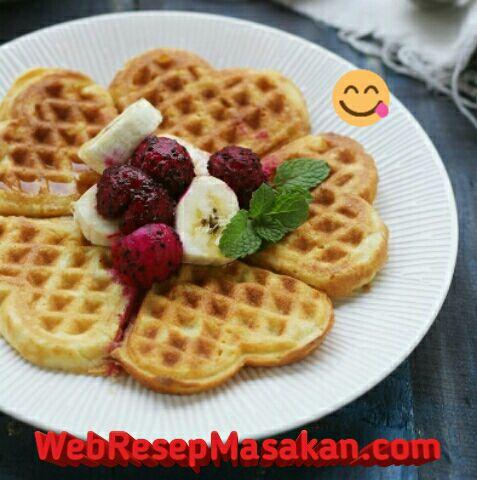 Waffle fluffy ncc, Resep waffle fluffy ncc,