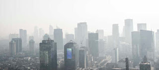 CREA Temukan Gas Beracun Kepung Ruang Udara Jakarta