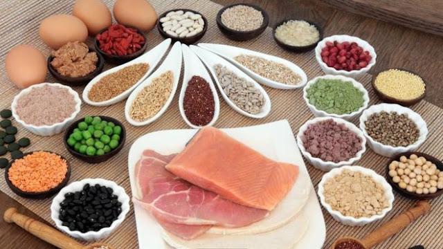 مصادر البروتين الصحية