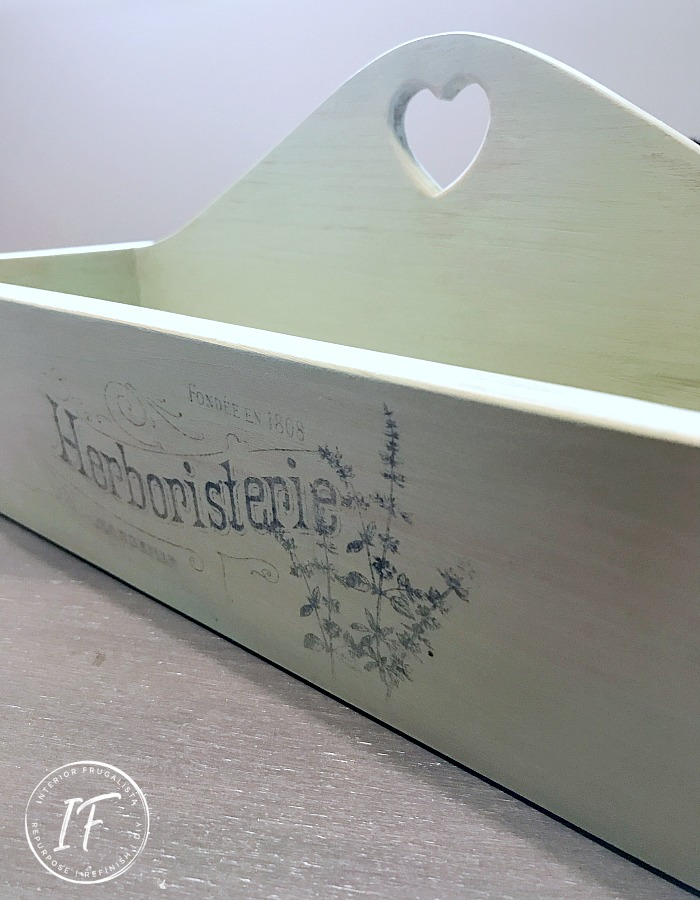 French Typography Garden Box