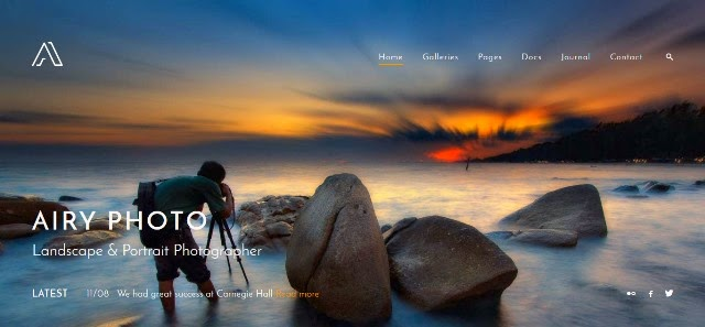 Airy - Photography and Creative HTML Template