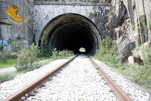 Túnel El Pendón en Bustarviejo