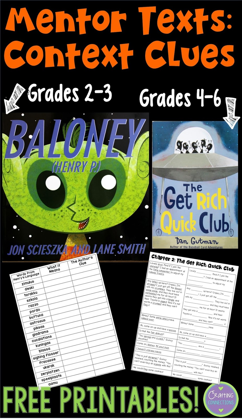 hight resolution of Context Clues: Read Alouds with FREE Printables!   Crafting Connections