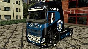 Police Volvo 2013