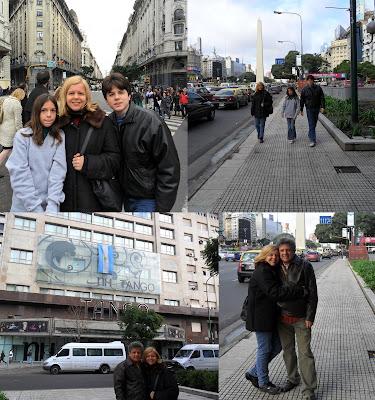 Obelisco centro Buenos Aires; Argentina; Buenos Aires; turismo América Latina;