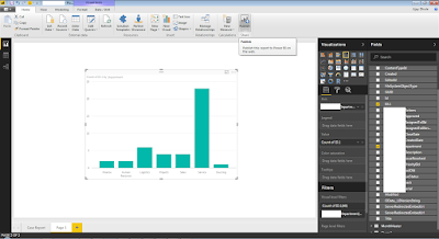 Publish Power BI report and export it to SharePoint site