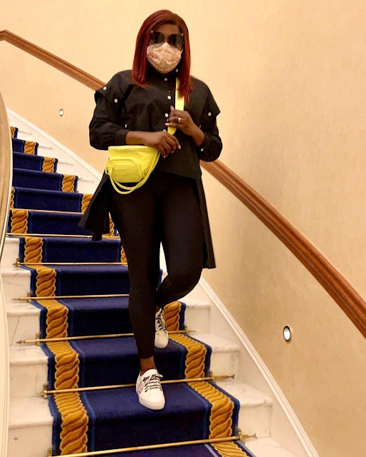'Heading To The Mall' - Actress Funke Akindele Shares More Photos From Her Dubai Trip