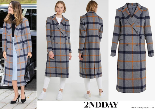 Princess Sofia wore 2ND Day Duster Classic Coat