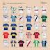 Confira todas as camisas dos últimos campeões da Copa Libertadores