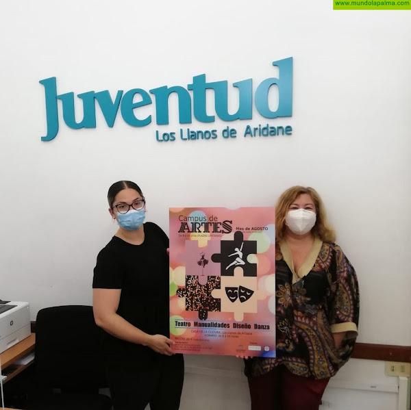 En el mes de agosto, Campus de Artes en Los Llanos de Aridane