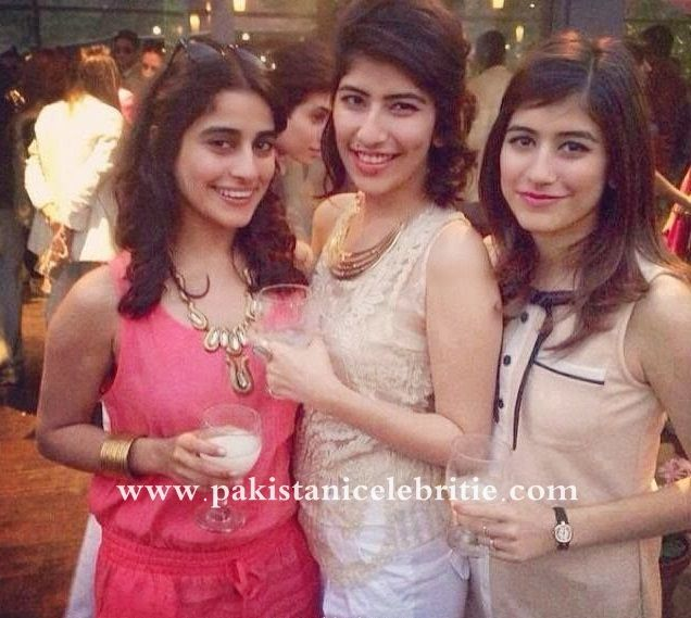 Syra Yusaf with her Sisters