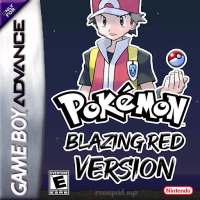 Pokemon Blazing Red GBA ROM Hack Download