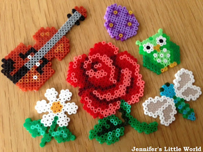Mini Hama bead craft projects