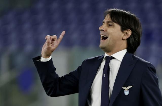 Lazio manager Inzaghi