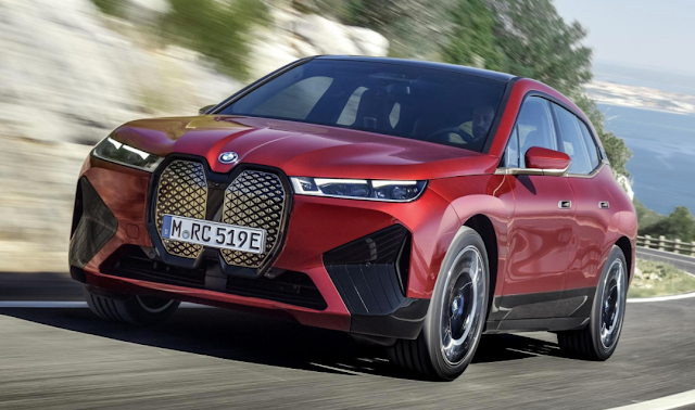 The BMW iX is here, and it's a 500bhp electric SUV
