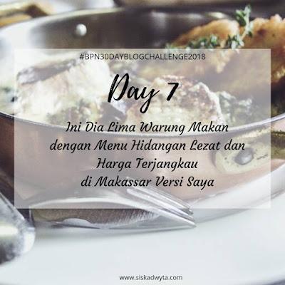 Rekomendasi warung makan murah di Makassar
