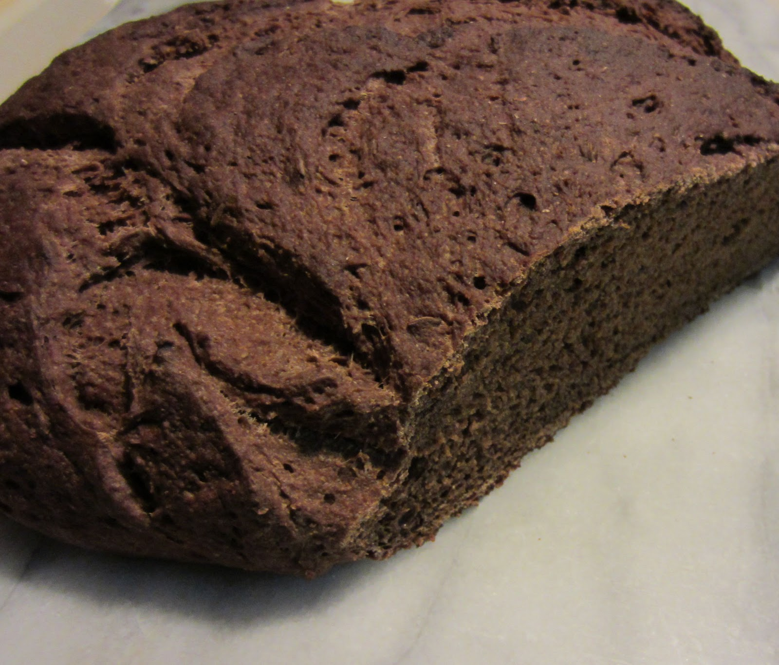 Minka Cooks Macedonian Black Bread