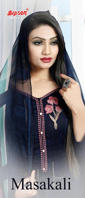 Bipson Masakli Pashmina Winter Salwar Kameez Collection