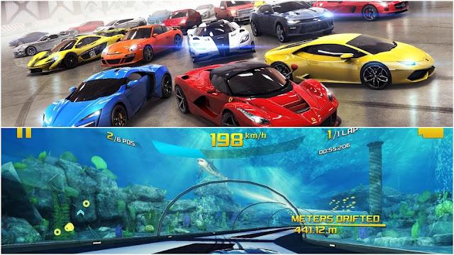 2.Best Graphics Gadi wala Game- Asphalt 8: Airborne